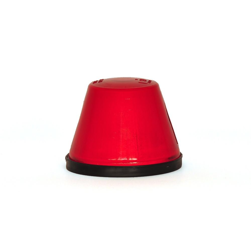 LAMPA OBRYSOWA CZERWONA 12/24V 16