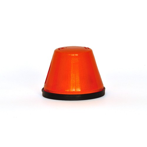 LAMPA OBRYSOWA POMARAŃCZOWA 12/24V 17