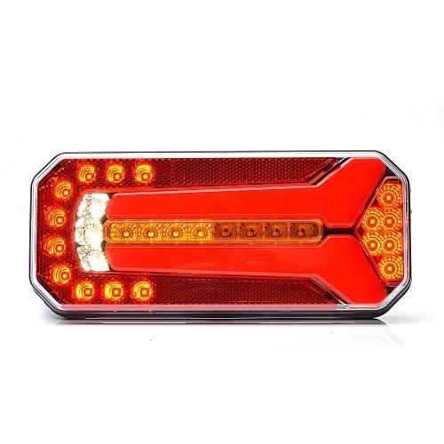 LAMPA ZESPOLONA TYLNA 12-24V LED 1114DDL/P