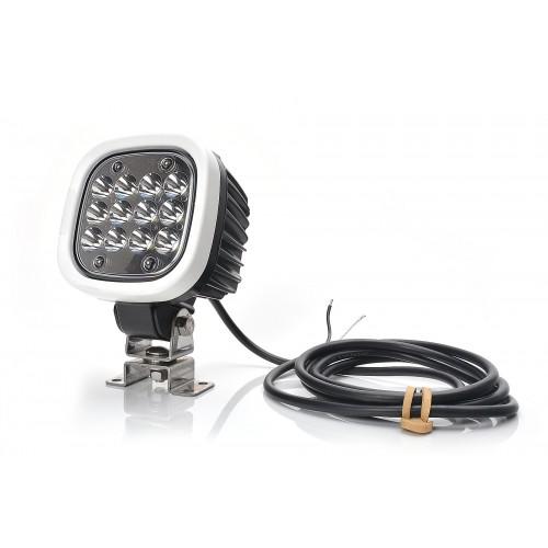 LAMPA ROBOCZA LED 12-70V ROZPROSZONA 1214