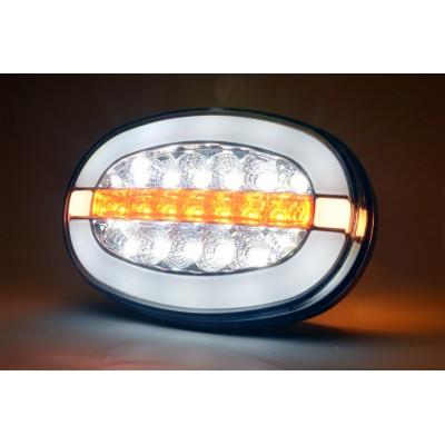 LAMPA DO JAZDY DZIENNEJ 12-24V LED 1428L/P
