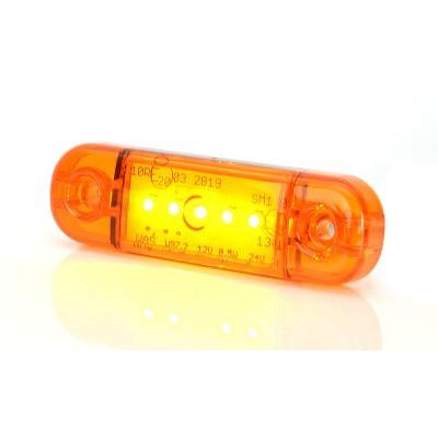 LAMPA OBRYSOWA POMARAŃCZOWA 12-24V LED 711