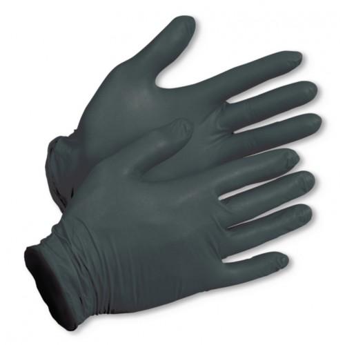 Rękawice nitrylowe czarne m