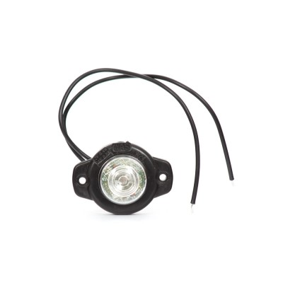 LAMPA OBRYSOWA CZERWONA 12-24V LED 127