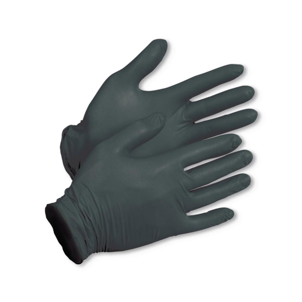 Rękawice nitrylowe czarne xL