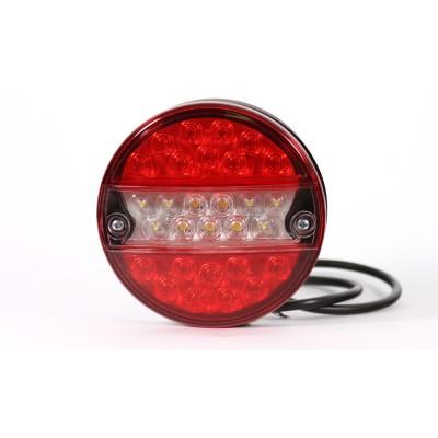 LAMPA COFANIA Z PRZECIWMGIELNYM 24V LED