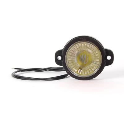 LAMPA OBRYSOWA BIAŁA 12-24V LED 451