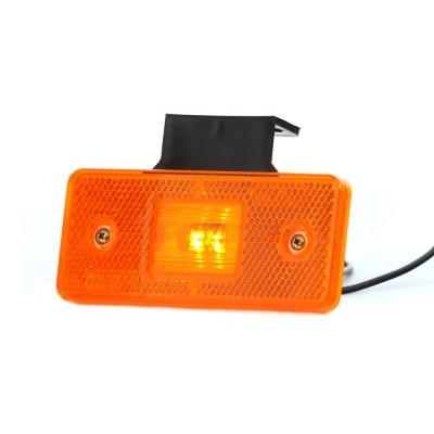LAMPA OBRYSOWA POMARAŃCZOWA 12-24V LED 101Z
