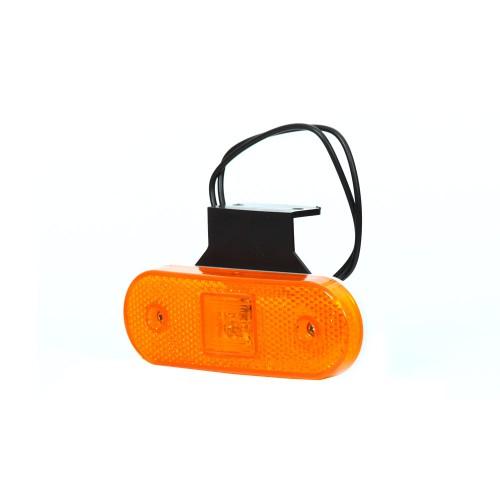 LAMPA OBRYSOWA POMARAŃCZOWA 12-24V LED 229Z