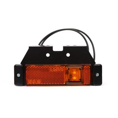 LAMPA OBRYSOWA LED 12-24V POMARAŃCZOWA