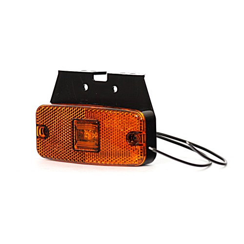 LAMPA POMARAŃCZOWA OBRYSOWA 12-24V LED 223Z