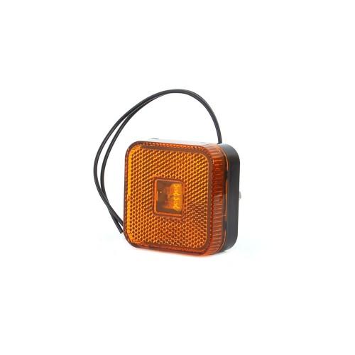 LAMPA OBRYSOWA POMARAŃCZOWA  12-24V LED 302