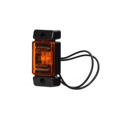 LAMPA OBRYSOWA POMARAŃCZOWA 12-24V LED 278