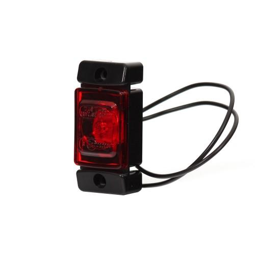 LAMPA OBRYSOWA CZERWONA 12-24V LED 280