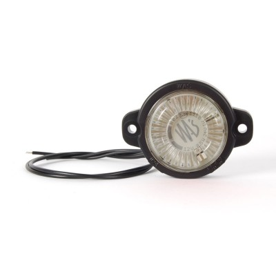LAMPA OBRYSOWA CZERWONA 12-24V LED 452
