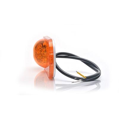 LAMPA OBRYSOWA POMARAŃCZOWA 12-24V LED 1152