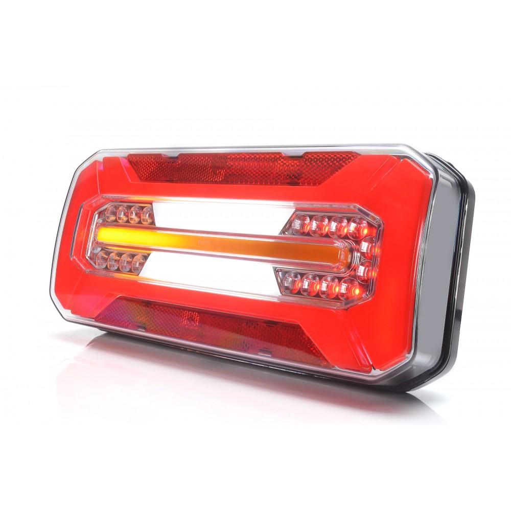 LAMPA ZESPOLONA TYLNA 12-24V LED 1298DDL/P