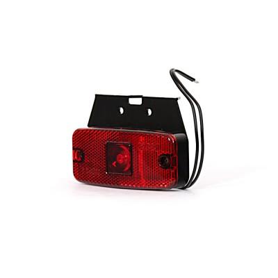 LAMPA OBRYSOWA CZERWONA 12-24V LED 224Z