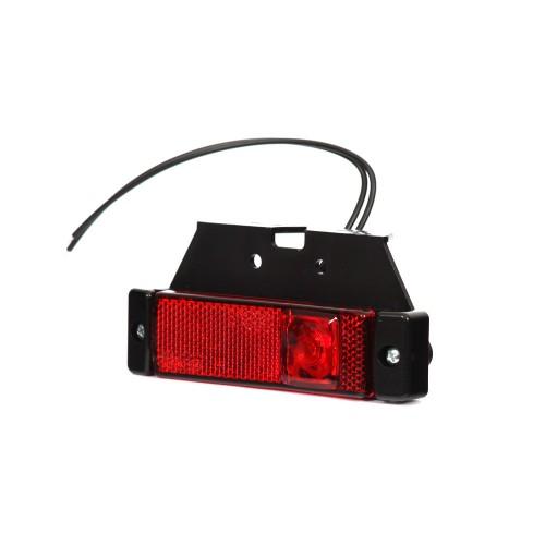 LAMPA OBRYSOWA CZERWONA 12-24V LED 221Z