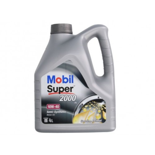 OLEJ MOBIL 10W40 SUPER 2000 X1 4L